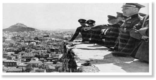 German occupation greece