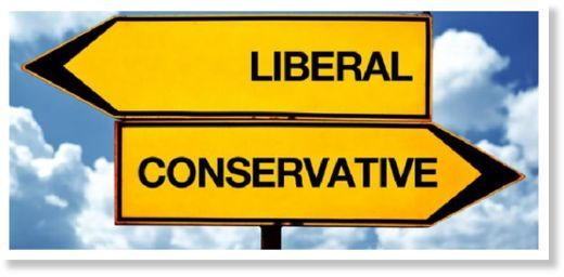 liberal conservative