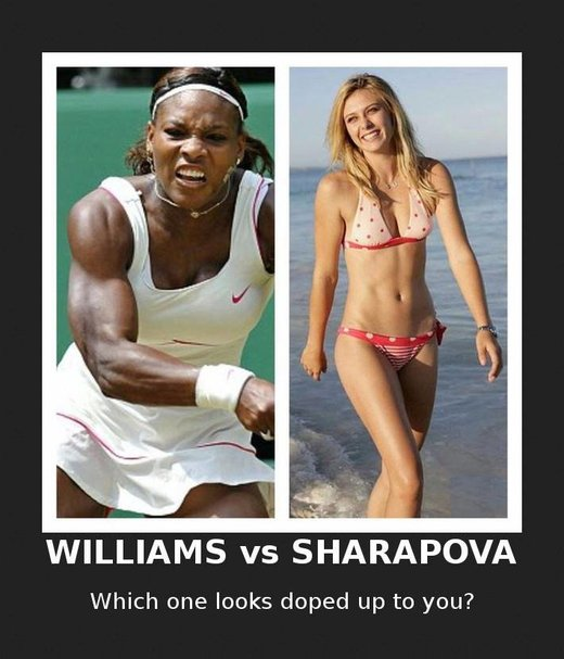 williams vs sharapova