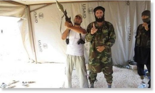 ISIS in USAID tent