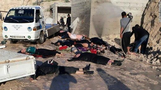 idlib chemical attack