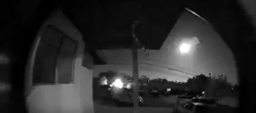 Meteor fireball over Socal