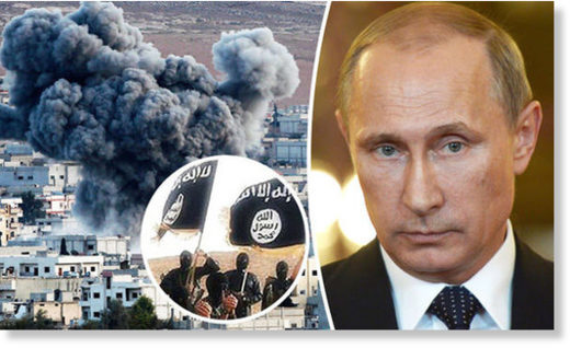 Putin Russia jets ISIS