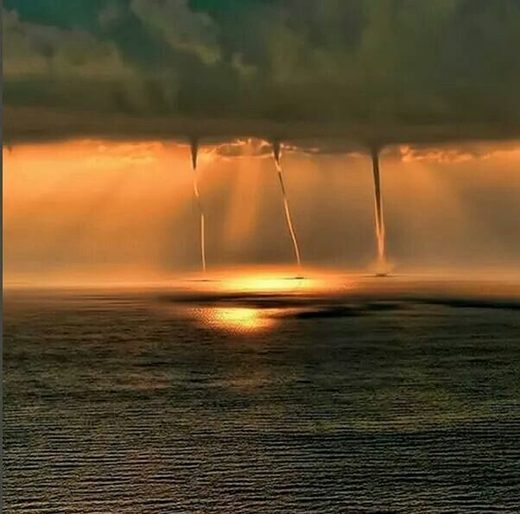 Waterspout on the Mediterranean